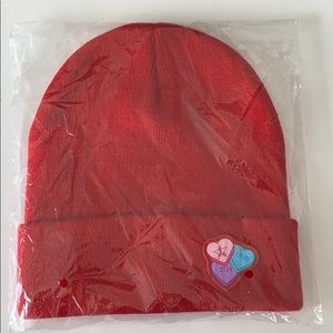 NWT Jeffree Star Candy Heart Beanie